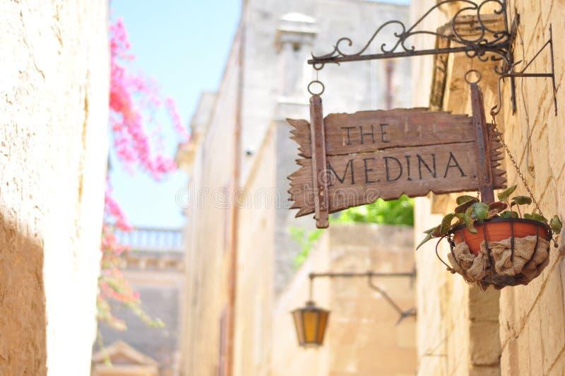 Tirado en Malta imagenes de archivo