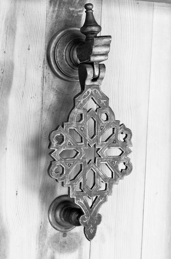 Tirador de puerta foto de archivo libre de regalías