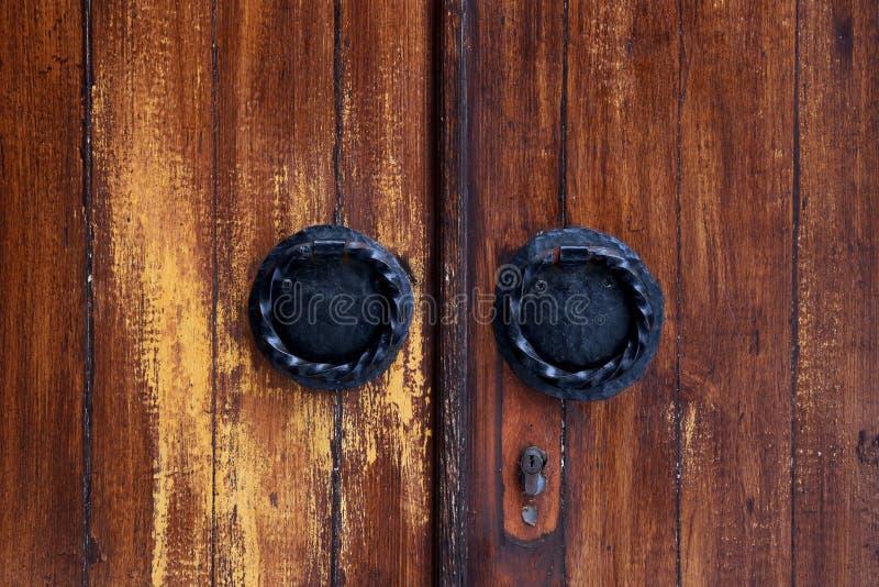 Tiradores de puerta imagen de archivo libre de regalías