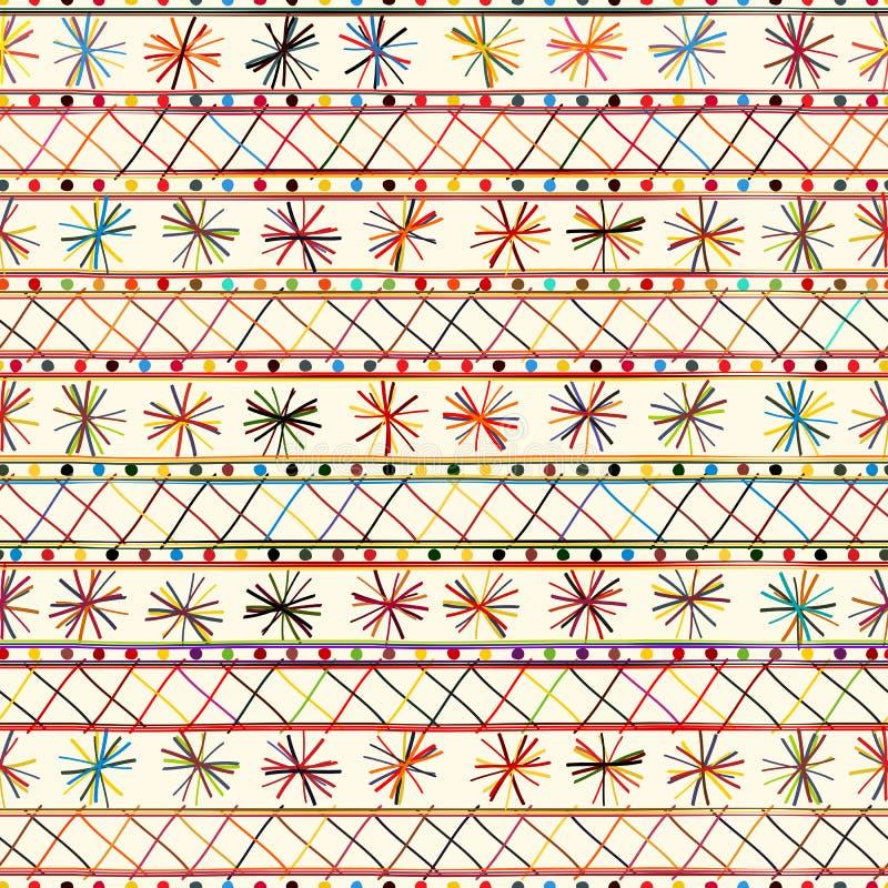 Tiraggio tribale della mano royalty illustrazione gratis