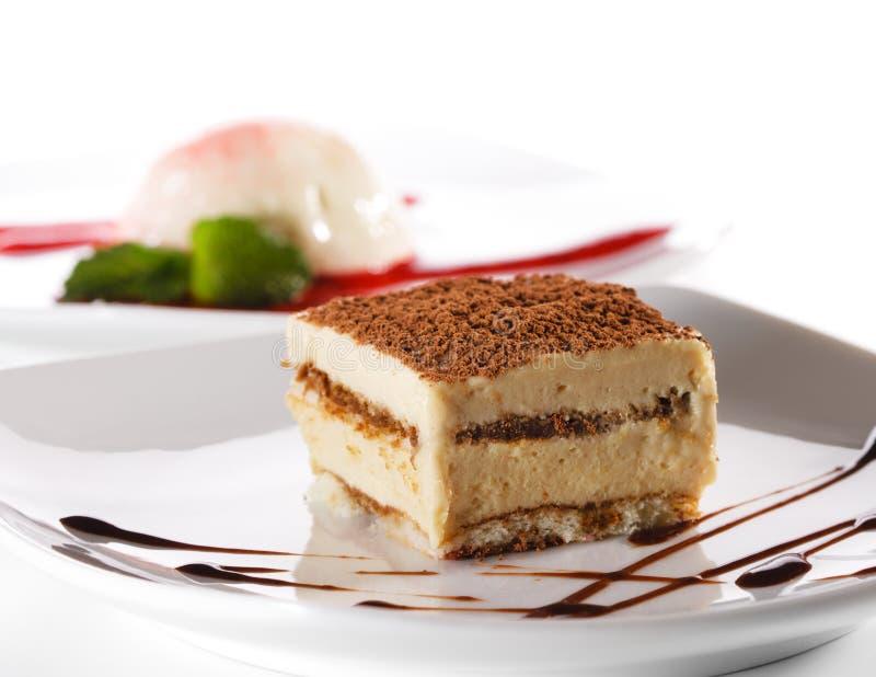 tiramisu десерта cheesecake стоковая фотография rf