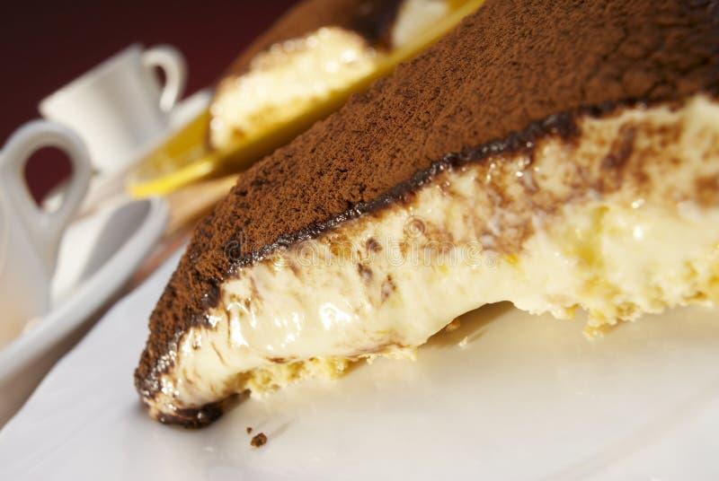 Tiramisu-cacao royalty-vrije stock afbeeldingen