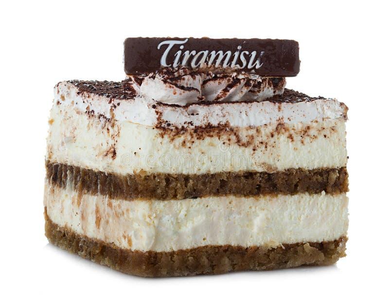 Tiramisu, cake royalty-vrije stock fotografie