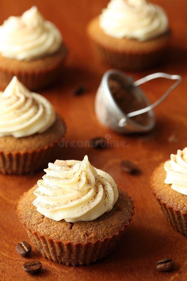 Tiramisu Cupcakes royalty free stock images