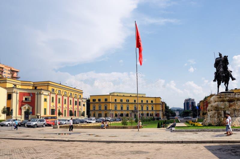 Tirana arkivbilder