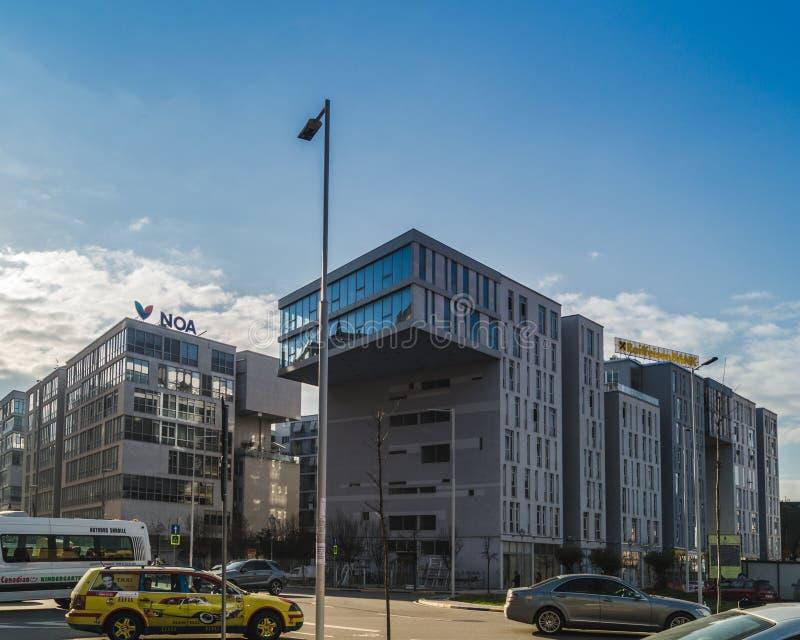 Tirana budynków architektura obrazy stock