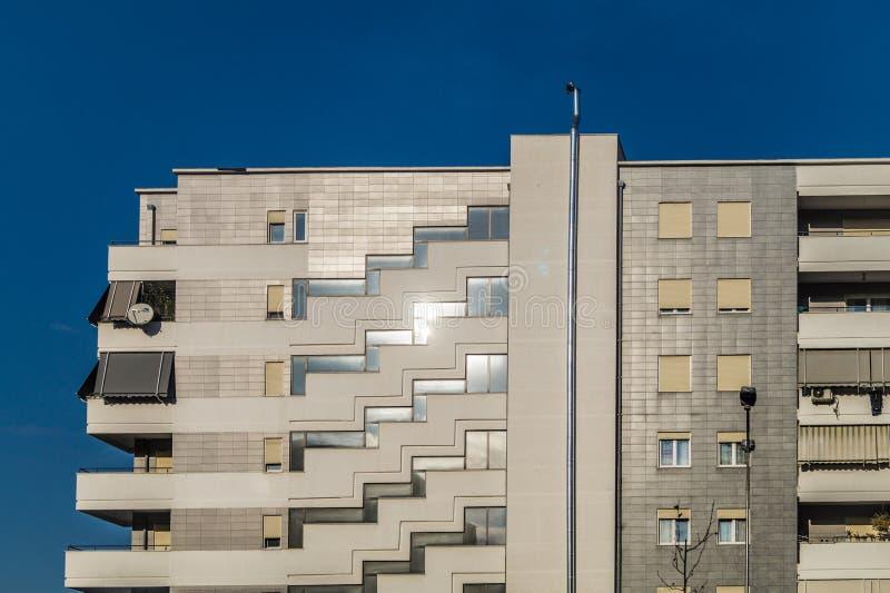 Tirana budynków architektura zdjęcie stock