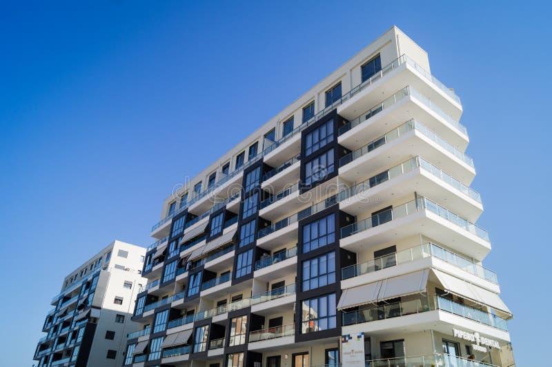 Tirana budynków architektura obrazy royalty free