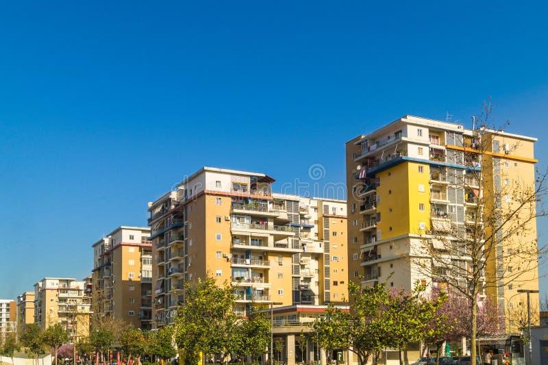 Tirana budynków architektura obraz stock