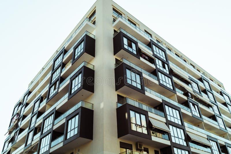 Tirana budynków architektura fotografia royalty free