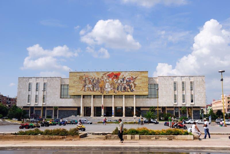 Tirana huvudstad av Albanien arkivfoton