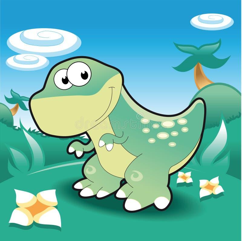 TirannosaurusRex vector illustratie