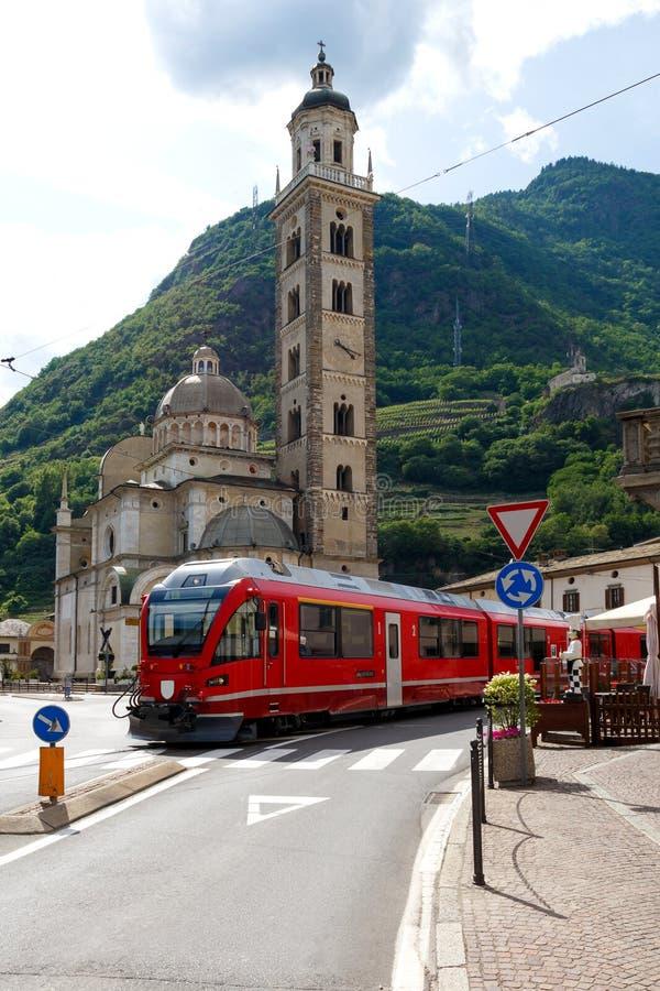 Tirano, Włochy obrazy royalty free