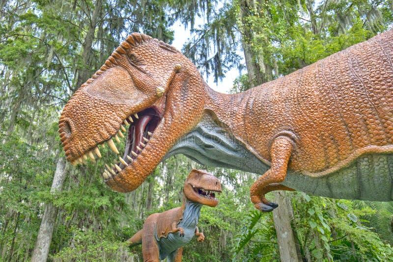 Tiranosaurio Rex Closeup fotos de archivo libres de regalías