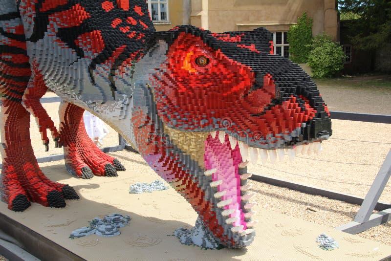 Tiranosaurio Rex Dinosaur Model fotos de archivo libres de regalías