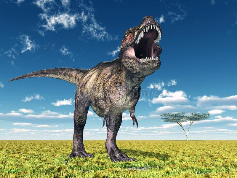 Tiranossauro Rex ilustração royalty free