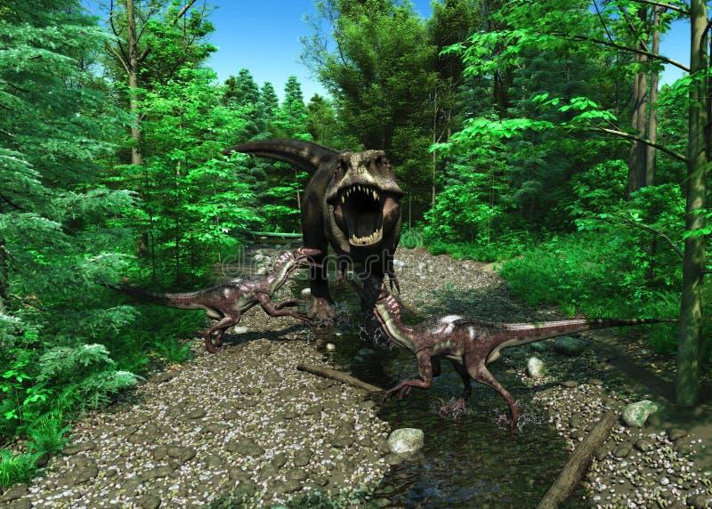 Tiranossauro Rex 4 imagens de stock