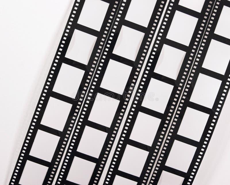 Tiras da película fotografia de stock royalty free