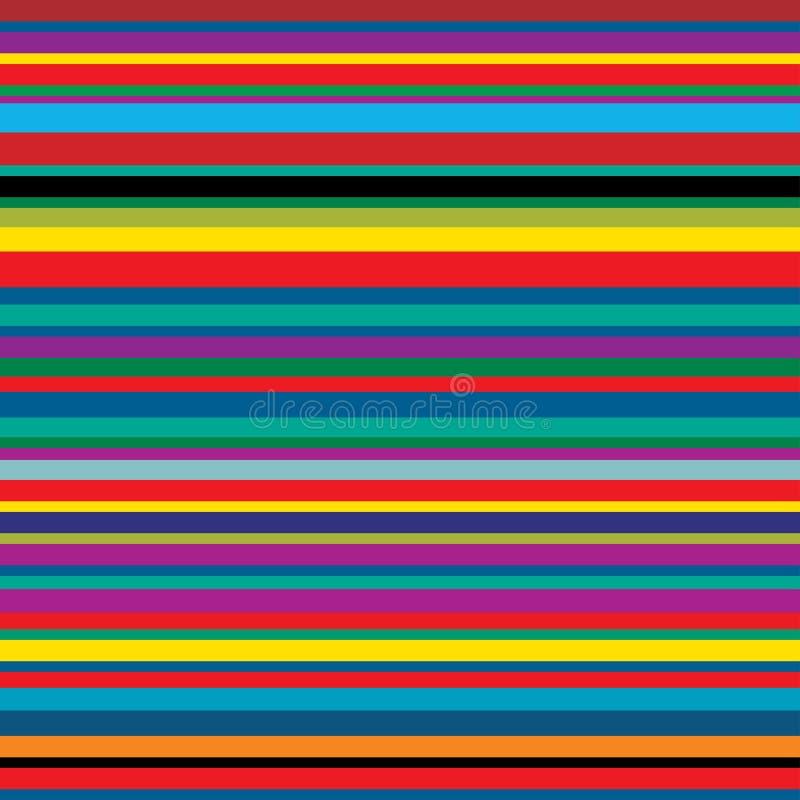 Tiras de color stock de ilustración