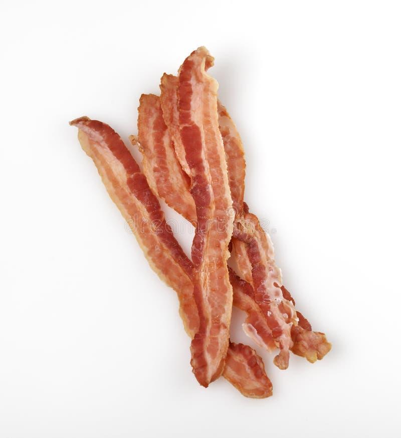 Tiras de Fried Bacon fotografía de archivo