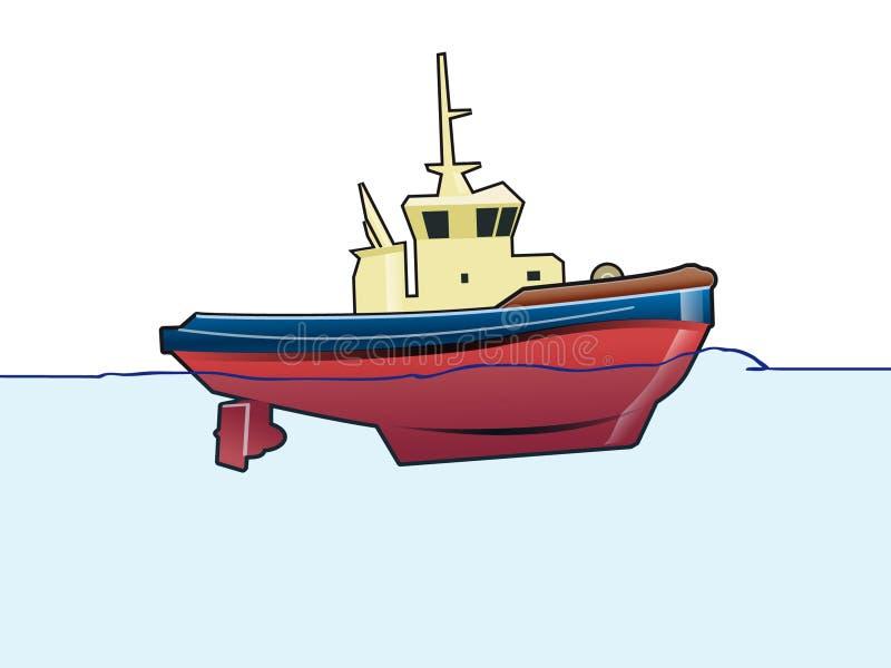 Tirata illustrazione di stock