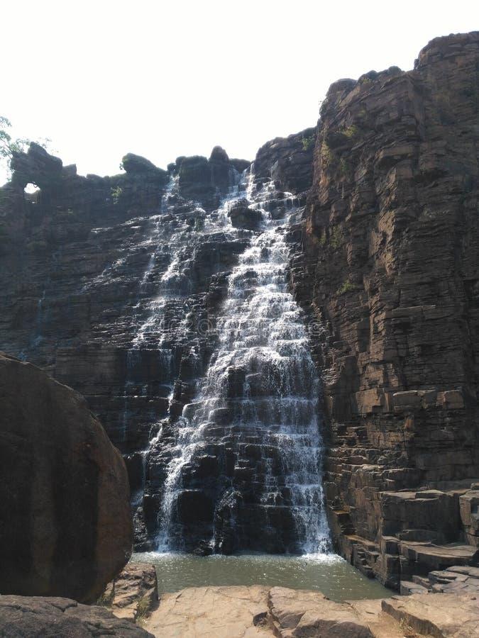 Tirathgarh spadki, bastar, chattisgarh zdjęcie stock