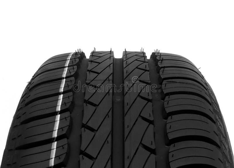 Tire. A closeup of a black tire