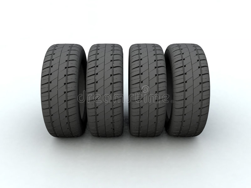 Tire stock illustration