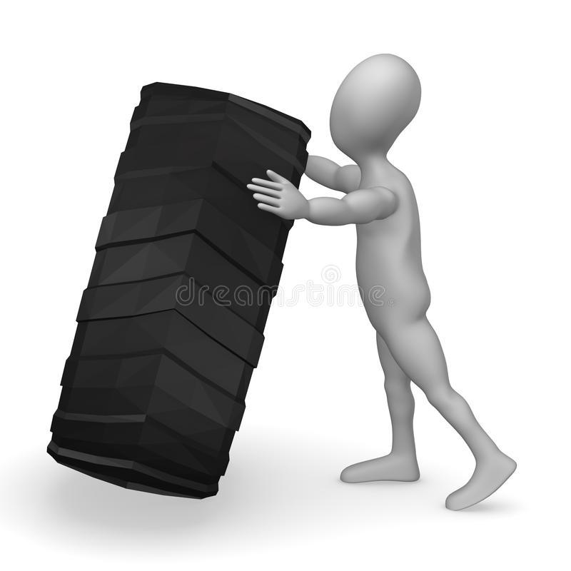 Download Tire stock illustration. Illustration of tuning, auto - 14932906