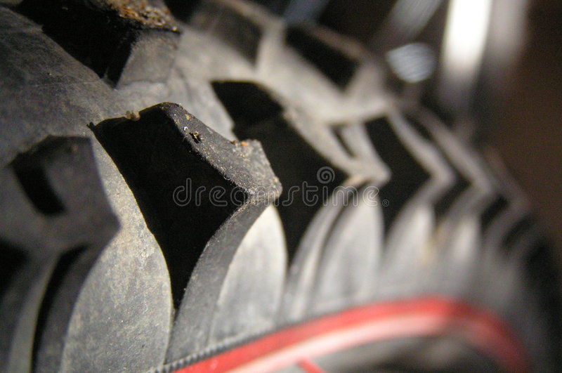 Tire. Bicycle tire stock image