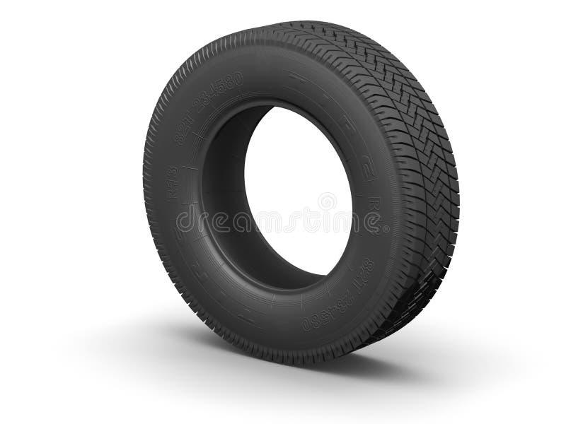Tire. Detailed tire (3d render