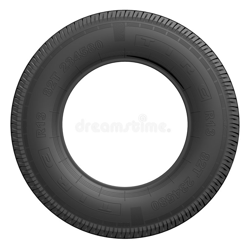 Download Tire stock illustration. Image of auto, rotating, shop - 754460