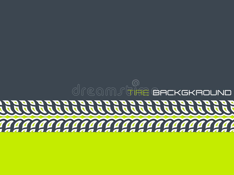 Tire advertising background design vector illustration