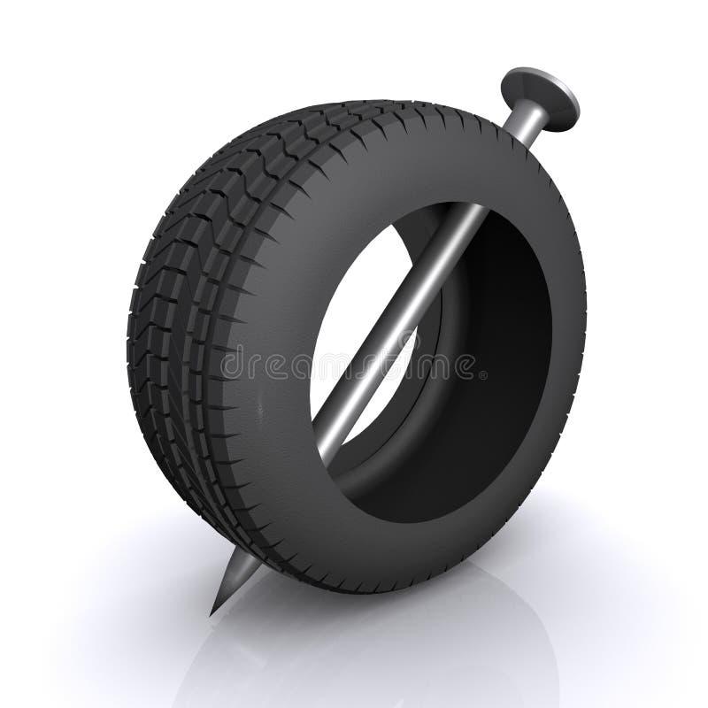 Tire Automobile Wheel Royalty Free Stock Image