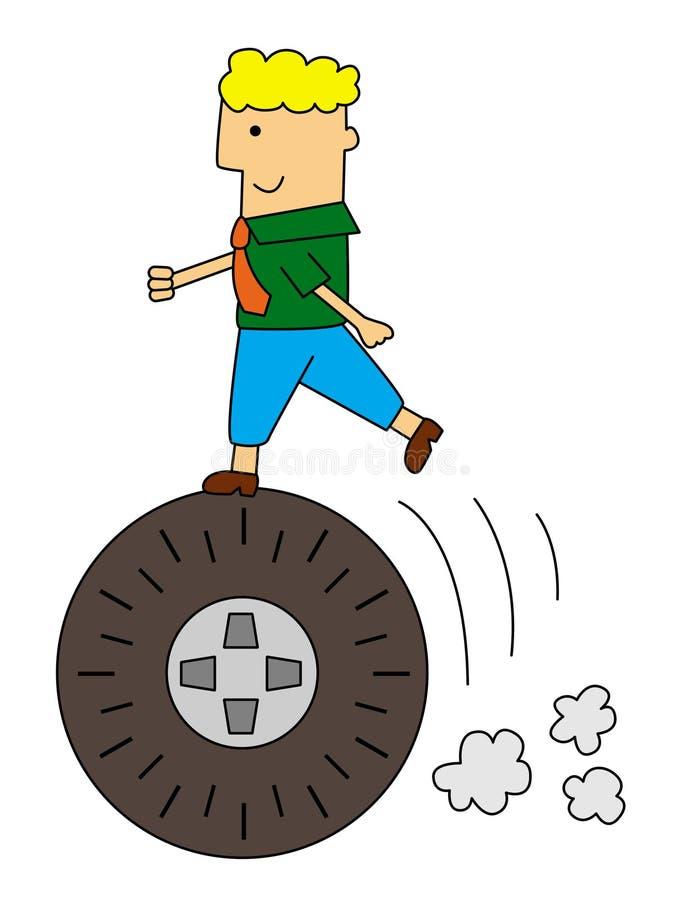 Download Tire business stock illustration. Image of wheel, progress - 29268441