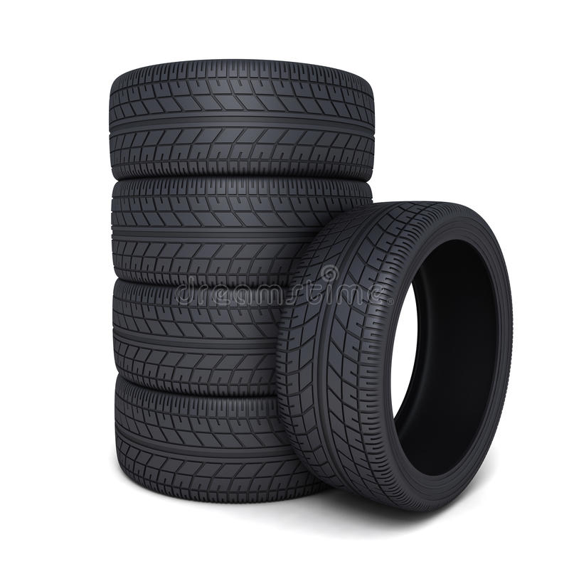 Tire Car Stock Images