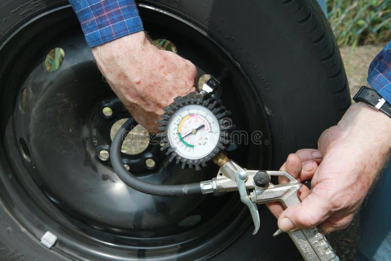 Tire Gauge Stock Photos