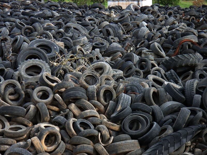 Tire Landfill stock photos