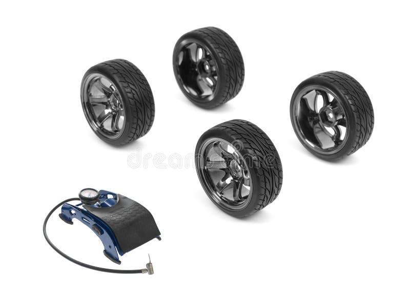 Tire Pump stock image