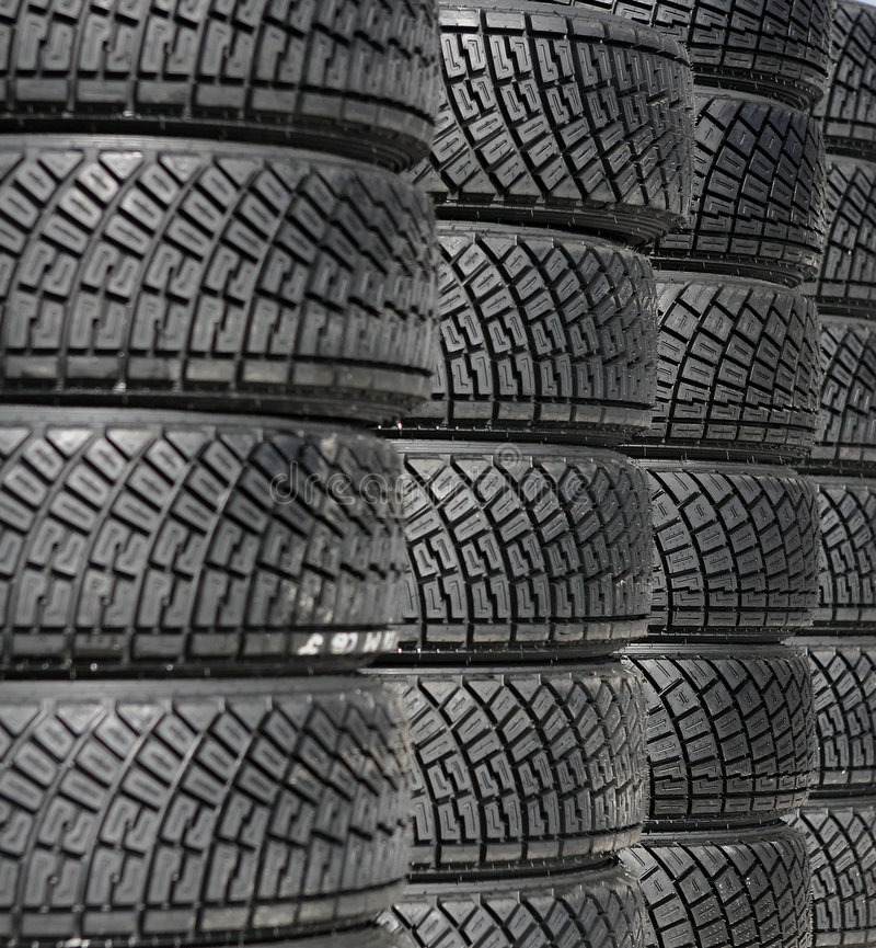 Free Tire S Stack Royalty Free Stock Photos - 37568