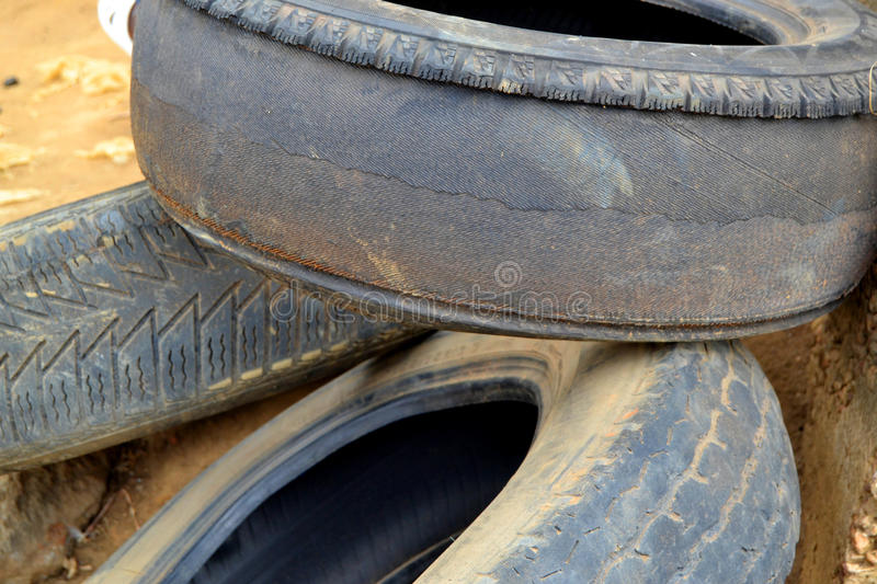 TIRE SELF COUNTERFEIT royalty free stock image