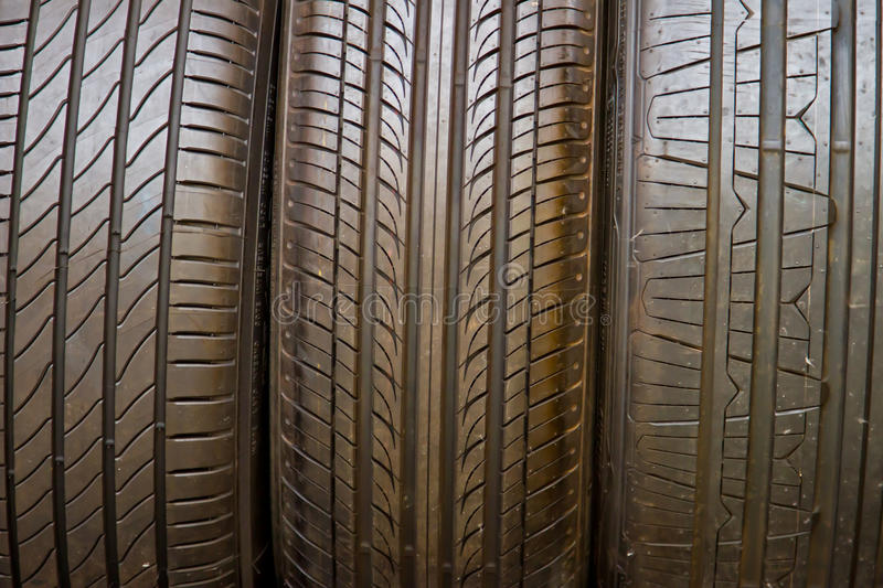 Tire stack background. Selective focus. Close up Tire stack background. Selective focus stock photos