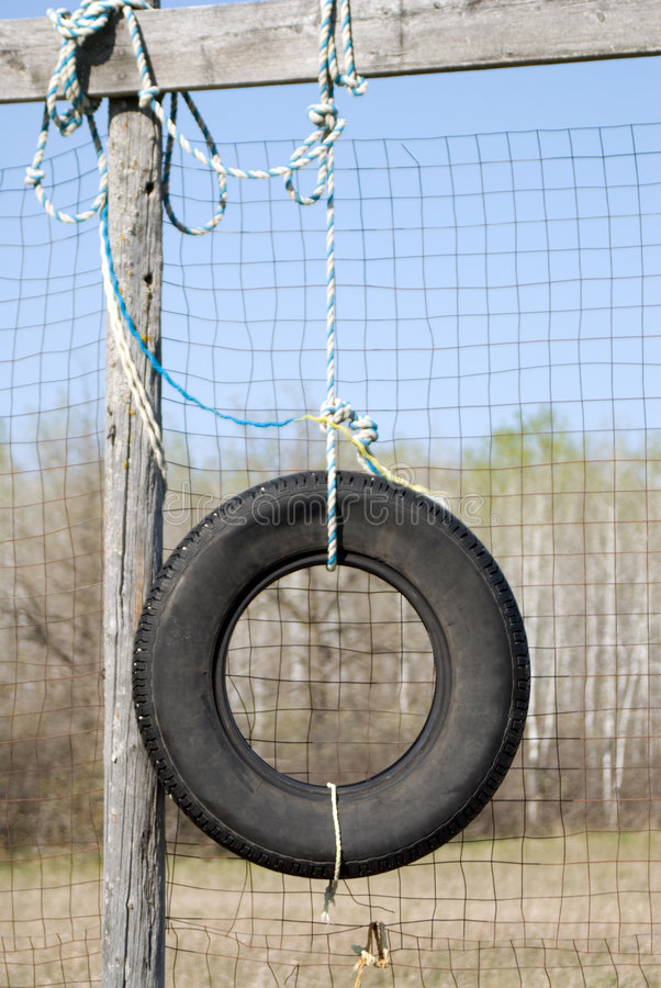 Tire Swing royalty free stock images