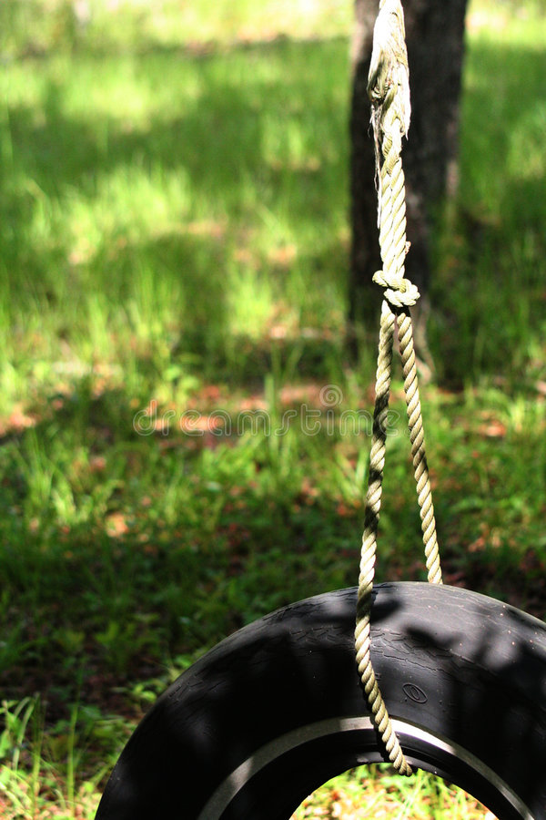 Tire Swing stock photos