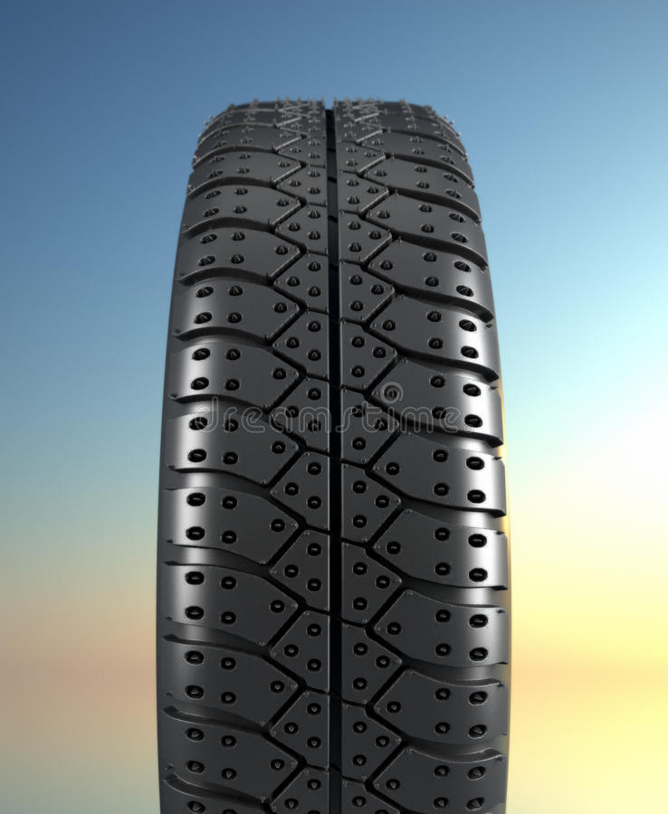 Tire Texture Royalty Free Stock Images