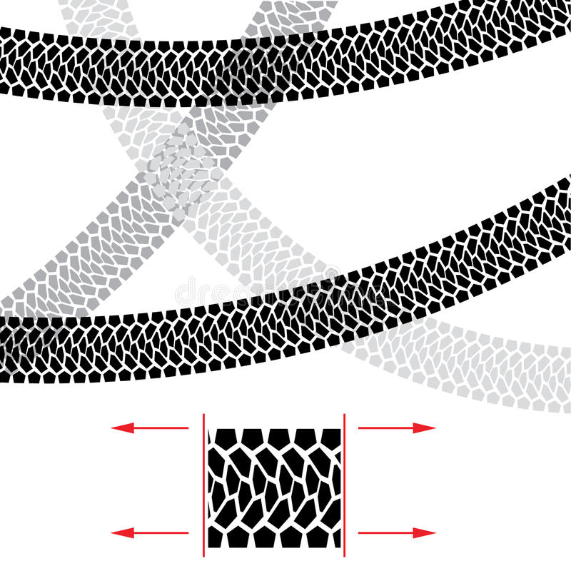 Download Tire Track Royalty Free Stock Images - Image: 24372339