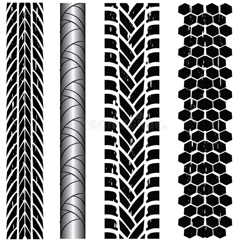 Download Tire Track Collection Stock Photography - Image: 18554312
