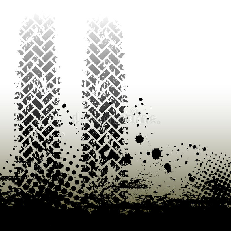 Download Tire Tracks Background Stock Photo - Image: 22344770