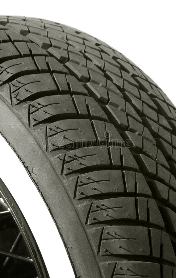 Tire tread stock photo