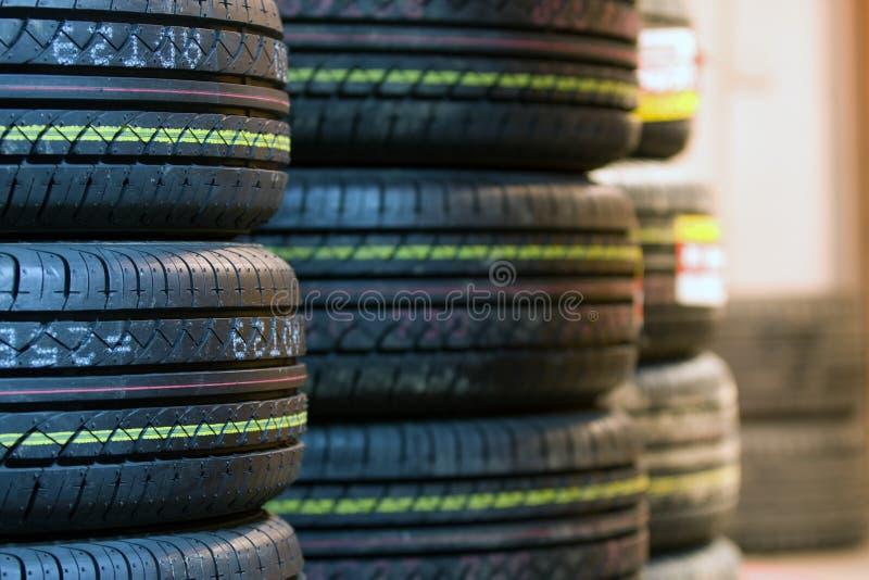 Tire tread close up royalty free stock image